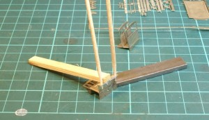 aligning the buffer beams for soldering