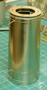 Boiler ready for soldering