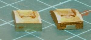 Clack valve pockets