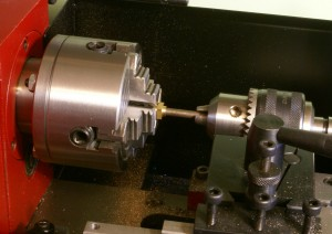 Mounting in the lathe