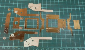 Front footplate components