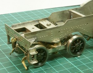 Rear bogie fitted