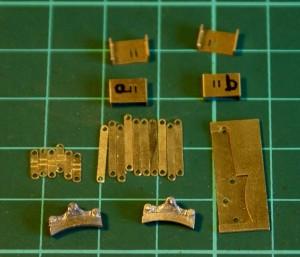 Brake hangers and brackets