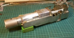 Fitting the boiler and firebox