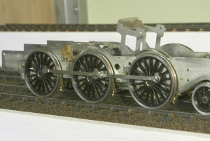 Coupling rods assembled