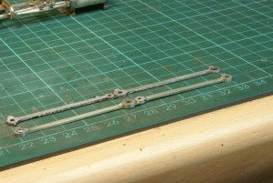 Filing up the coupling rods
