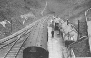 Holywell Town Station. 1932