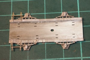Build up chassis layers.