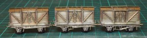 Finished D33 wagons