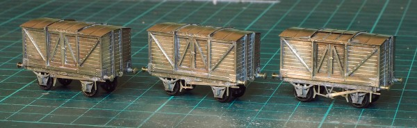 Finished wagons