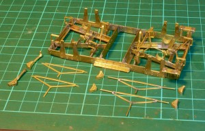 Modifying the brake stretchers for Scale7