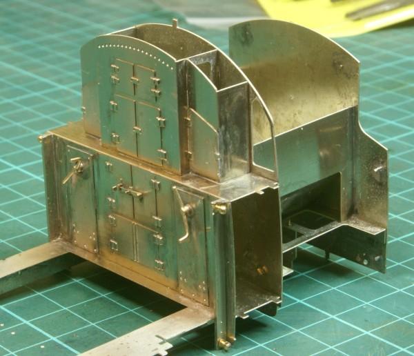 Fitting the bunker doors